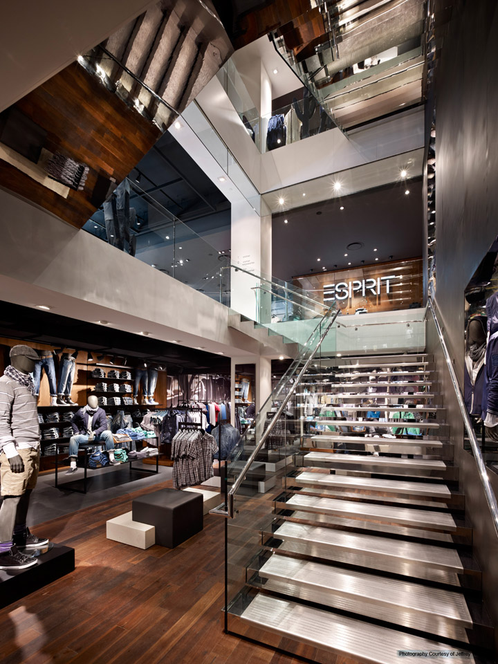 Esprit Flagship Store By J Tucci New York 187 Retail