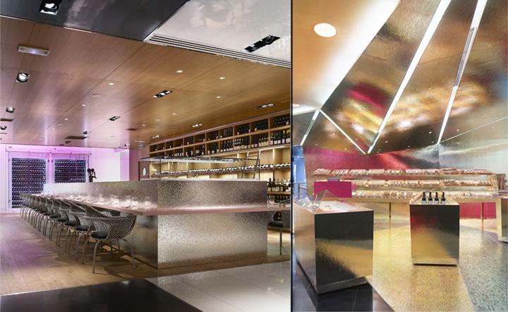 Fauchon food shop by Christian Biecher Paris 05 Fauchon fo