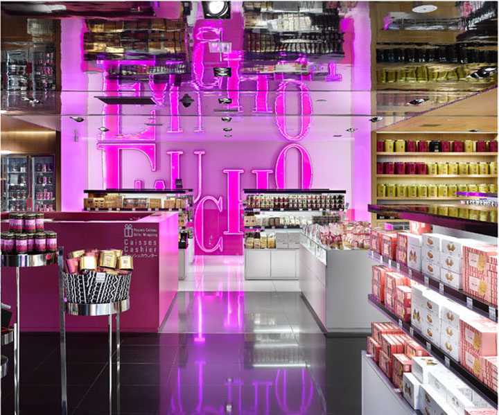 Fauchon food shop by Christian Biecher Paris Fauchon food shop b