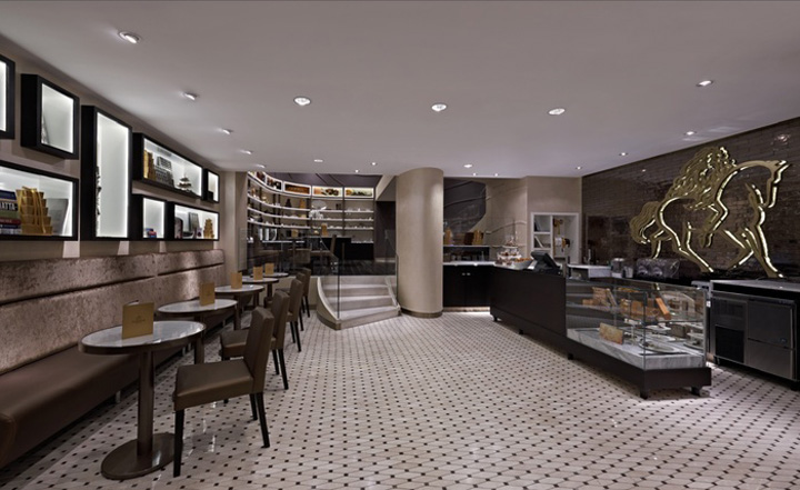Godiva Flagship Stores Concept Design By Dash Design Delectable Interior Design Retail Concept