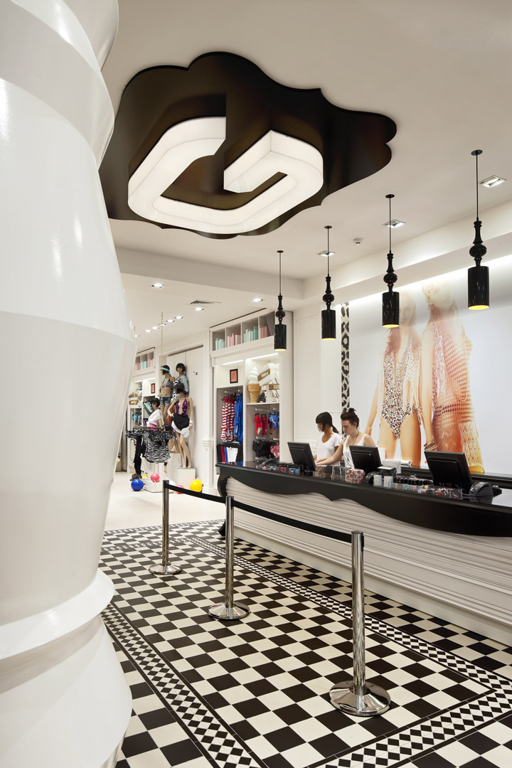 187 Glassons Flagship Store Broadway By Gascoigne Associates