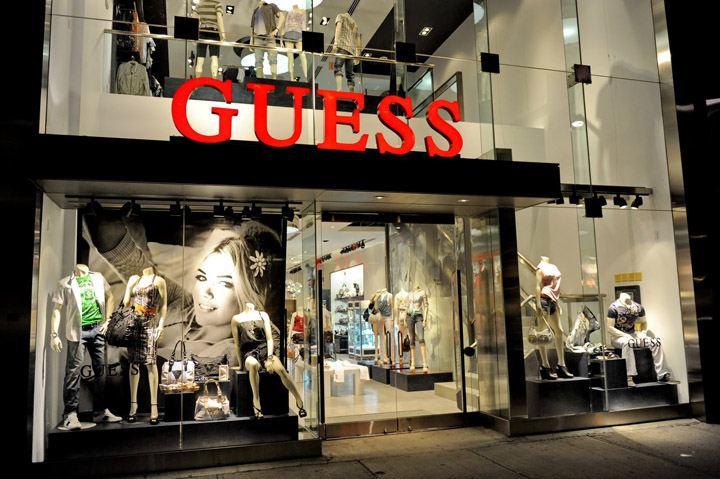 Image result for GUESS showroom