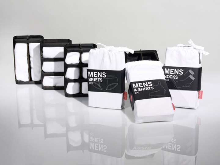 Hanes Mens Underwear by Ji Yong Park » Retail Design Blog