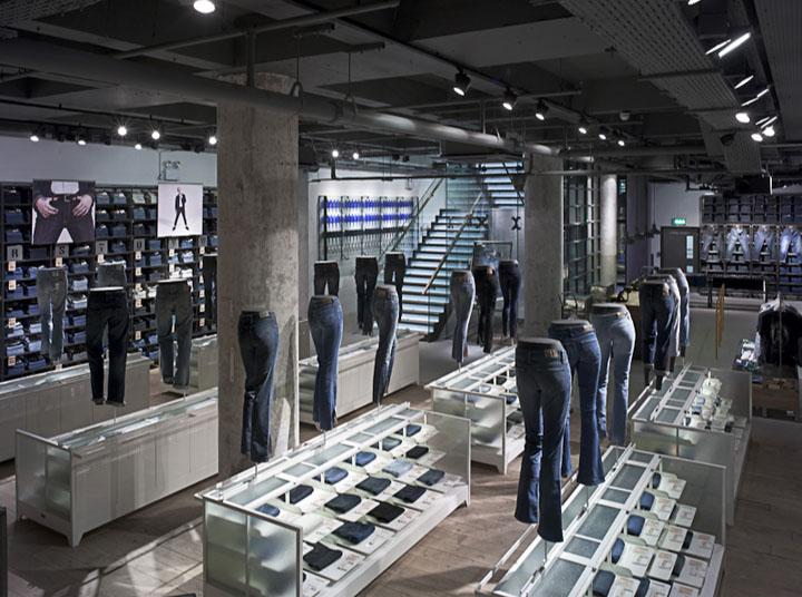 187 Levi S Flagship Store Regent Street London A R E Awards