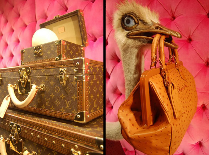 Louis Vuitton Ostrich Windows Bond Street 05 Louis Vuitton   Ostrich Windows, Bond Street New York