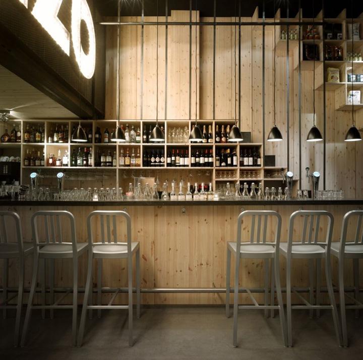 Restaurant Design Associates : Mazzo by concrete architectural associates retail design
