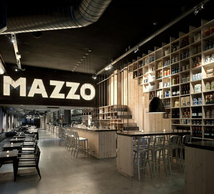 Mazzo by concrete architectural associates retail design for Architecture firm amsterdam
