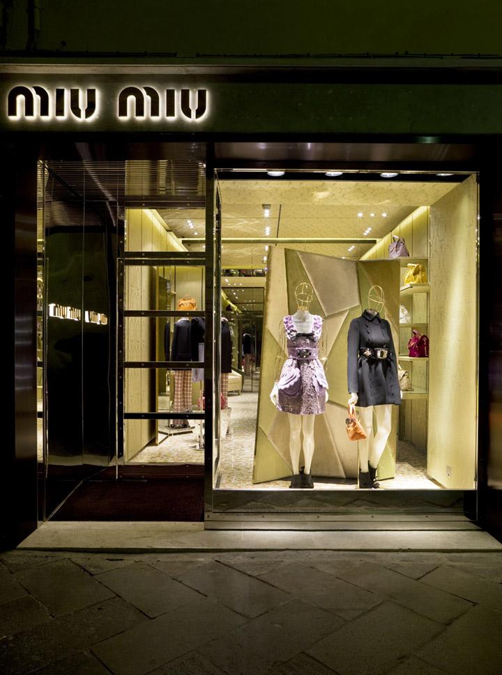 Miu Miu Store By Roberto Baciocchi Venice 187 Retail Design