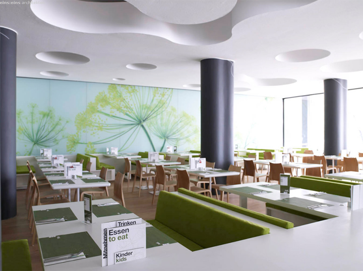food restaurant interior by eins eins architects retail design blog