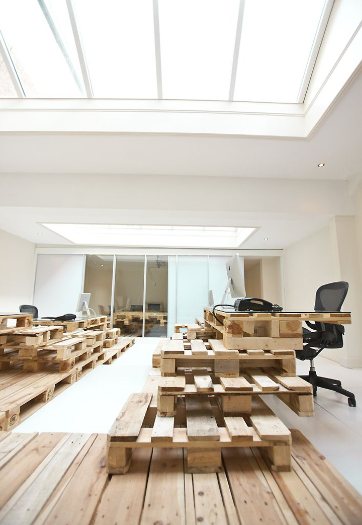 Pallet project by most architecture amsterdam retail for Design agency amsterdam