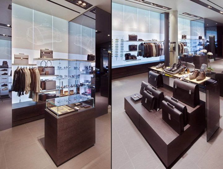 The new sales area will offer a wide selection of Porsche Design