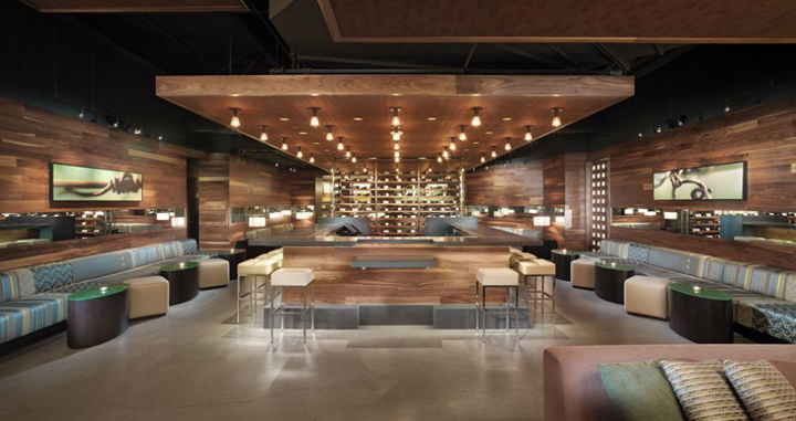 Press Club By Bcv Architects San Francisco on Urban Retail Design Loft Interior