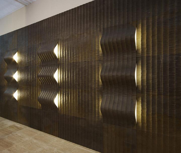 187 Quadro Curve Luce Panels By Raffaello Galiotto For