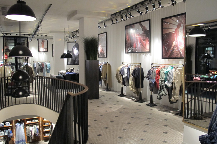 Scotch soda retail design blog for Design outlet hamburg