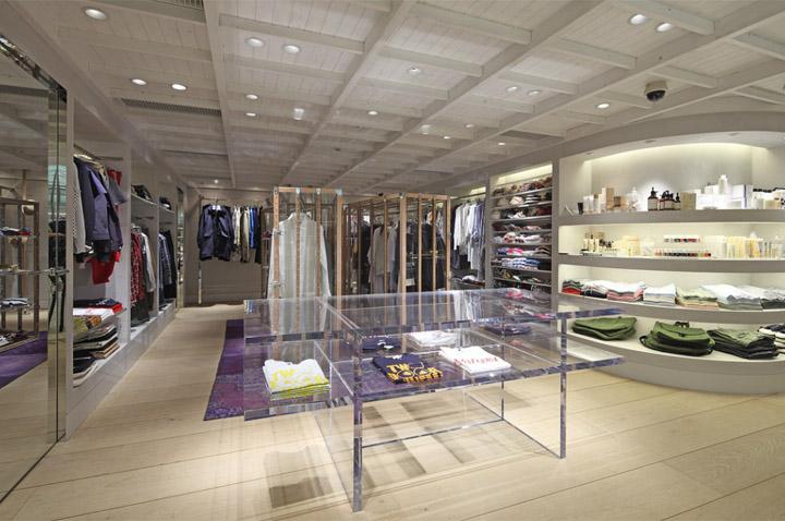 Super a market by wonderwall tokyo retail design blog for High end carpet brands