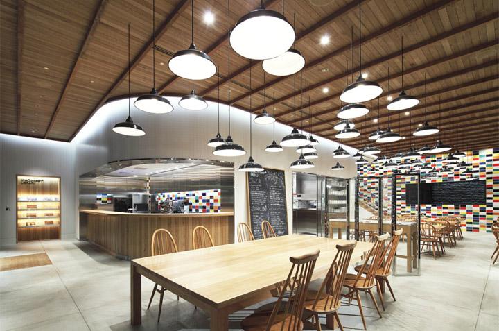 Canteen retail design