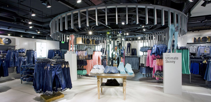 187 Topshop Oxford Circus Flagship Store By Dalziel And Pow
