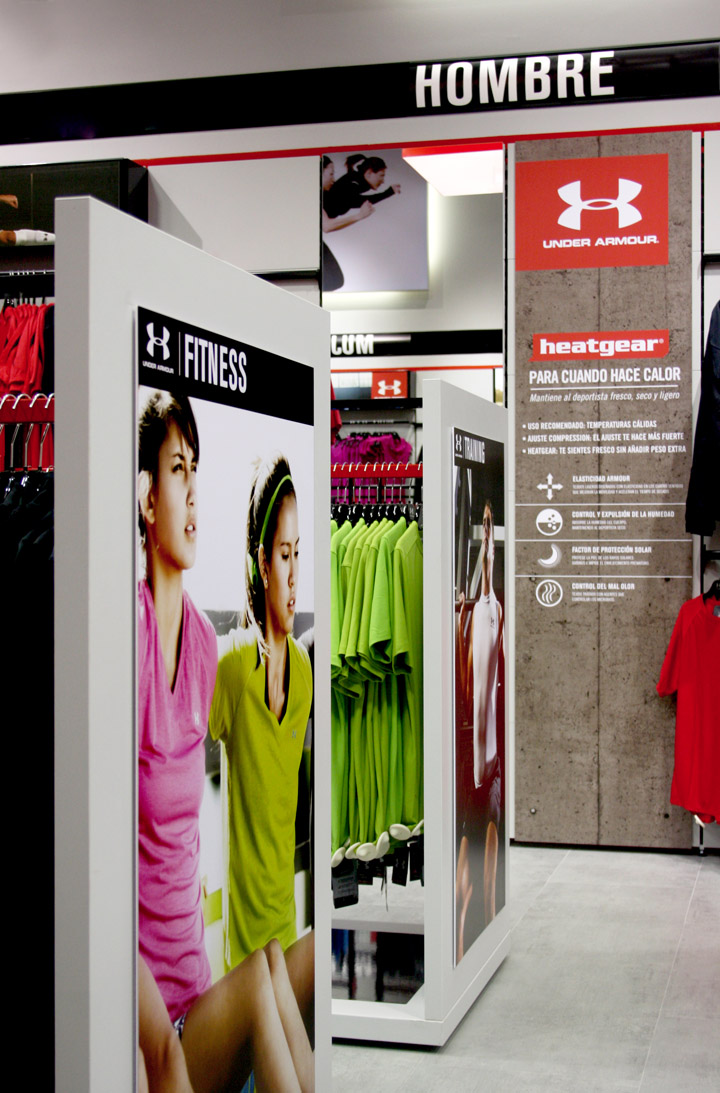 Microbio Física Memorándum  Storeage creates Under Armour's first European outlet store in Madrid