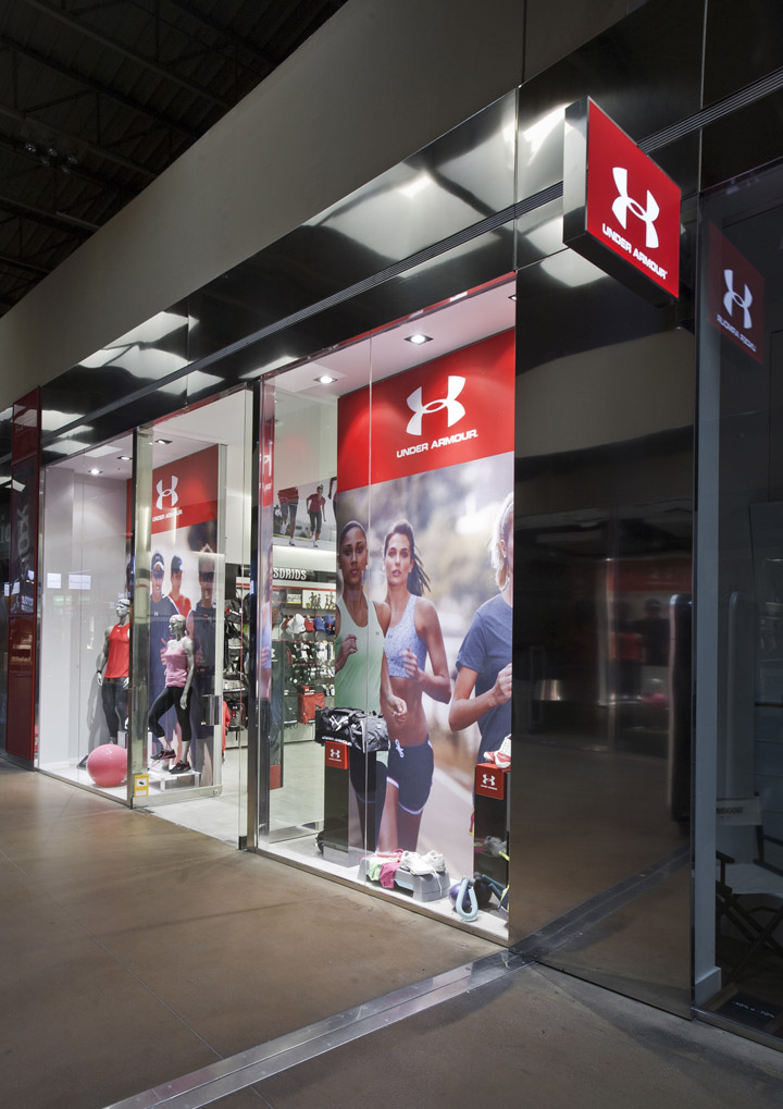 187 Storeage Creates Under Armour S First European Outlet