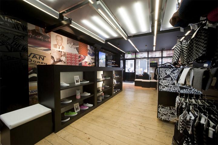 187 Vans Store At Covent Garden London