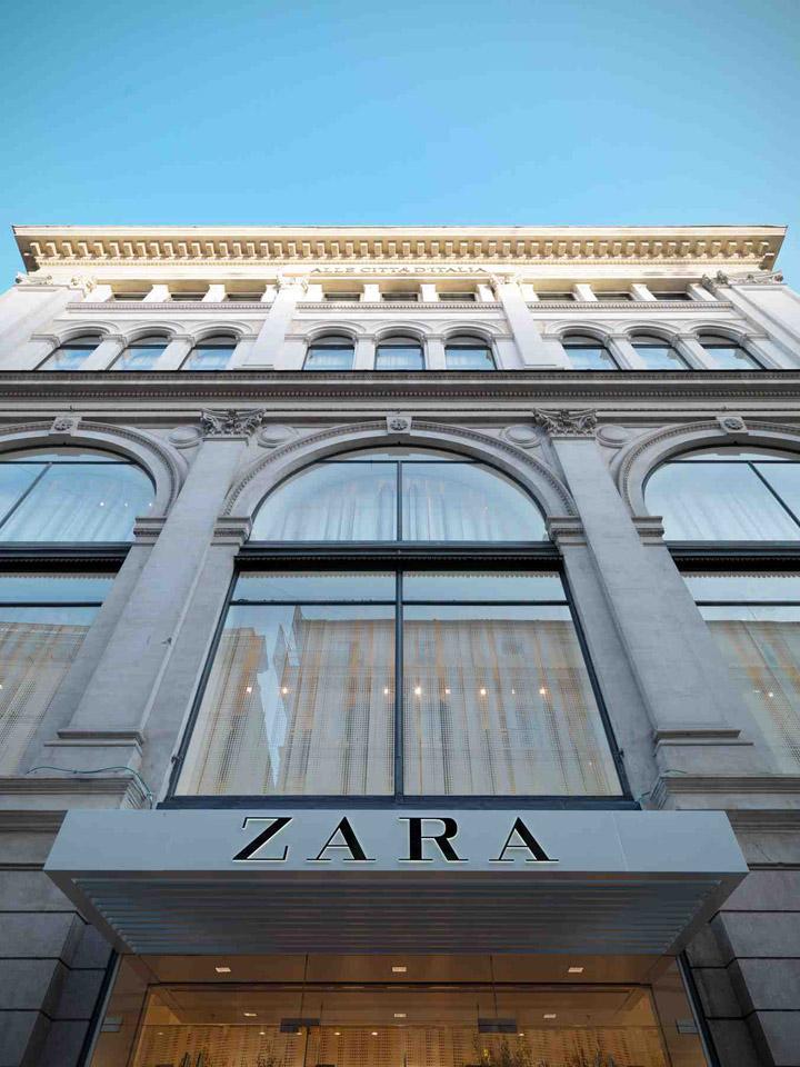 Zara flagship store via del corso rome 26 retail design blog for Bershka roma via del corso