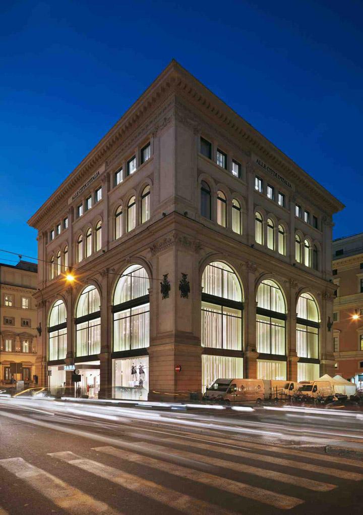 187 Zara Flagship Store By Duccio Grassi Architects Via Del