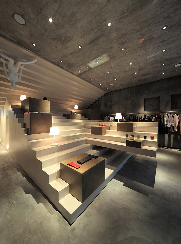 Alter concept store by 3gatti architecture studio for Concept of space in architecture