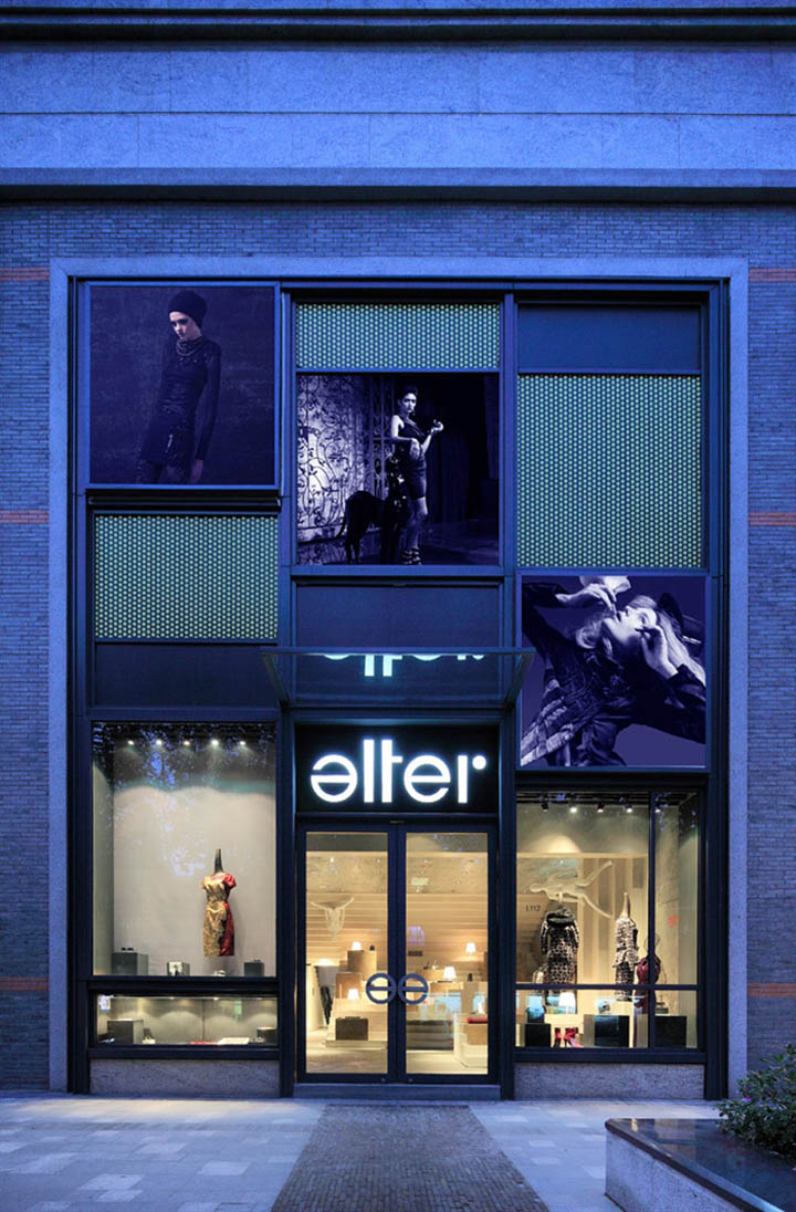 alter concept store by 3gatti architecture studio shanghai retail design blog. Black Bedroom Furniture Sets. Home Design Ideas