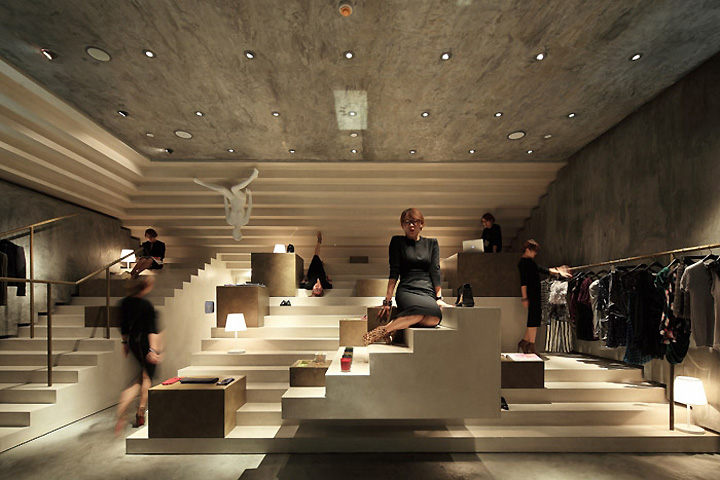 alter concept store by 3gatti architecture studio