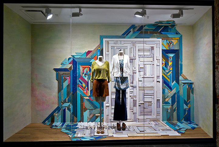 Anthropologie window displays 04 Anthropologie window displays