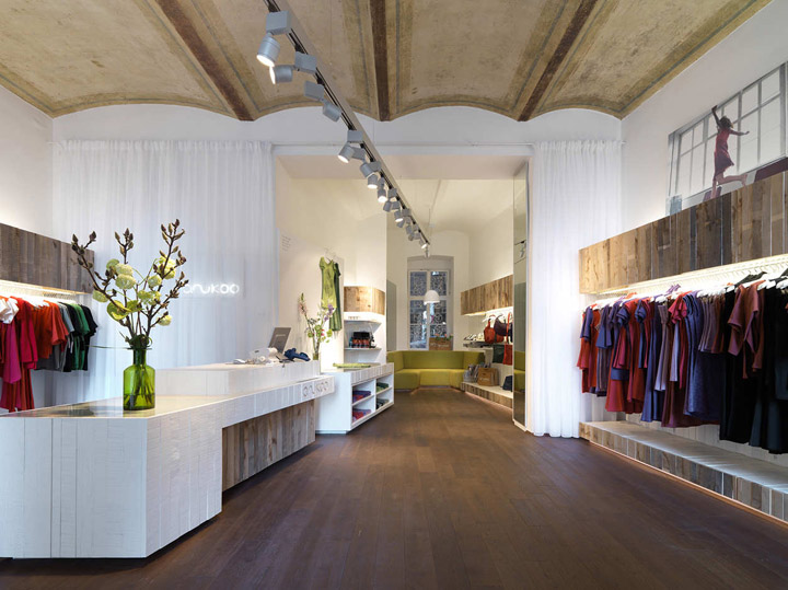 Anukoo fair fashion shop by atelier heiss architekten - Decoration style atelier ...