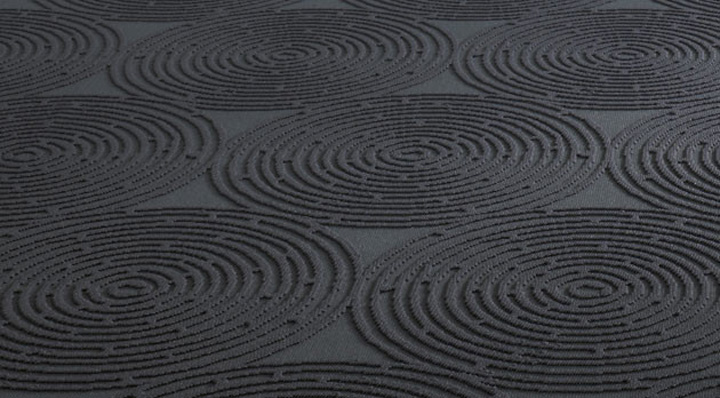 Object Carpet black vulcano by object carpet retail design