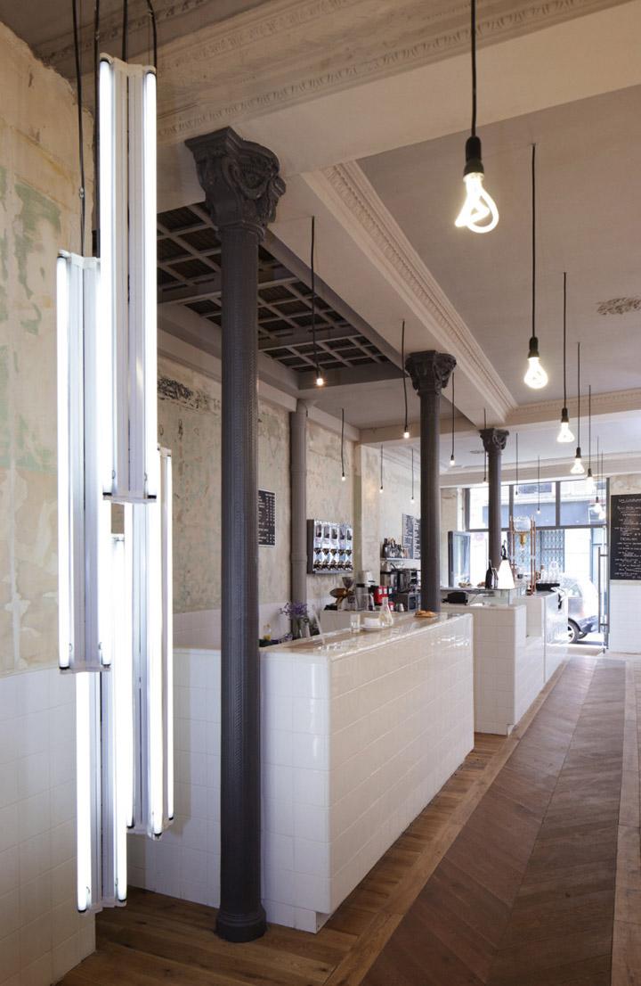 Caf 233 Coutume By Cut Architectures Paris 187 Retail Design Blog