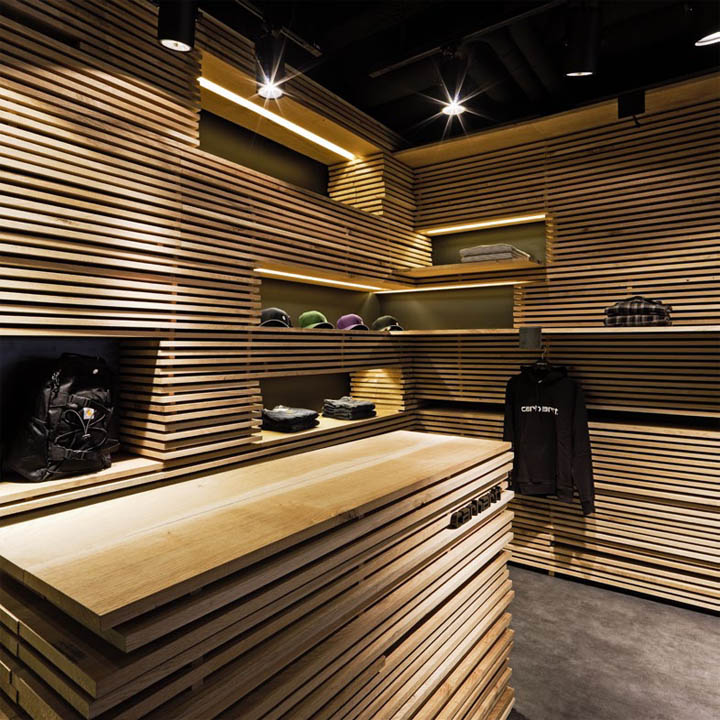 Carhartt Store By Francesc Rif Barcelona Retail Design