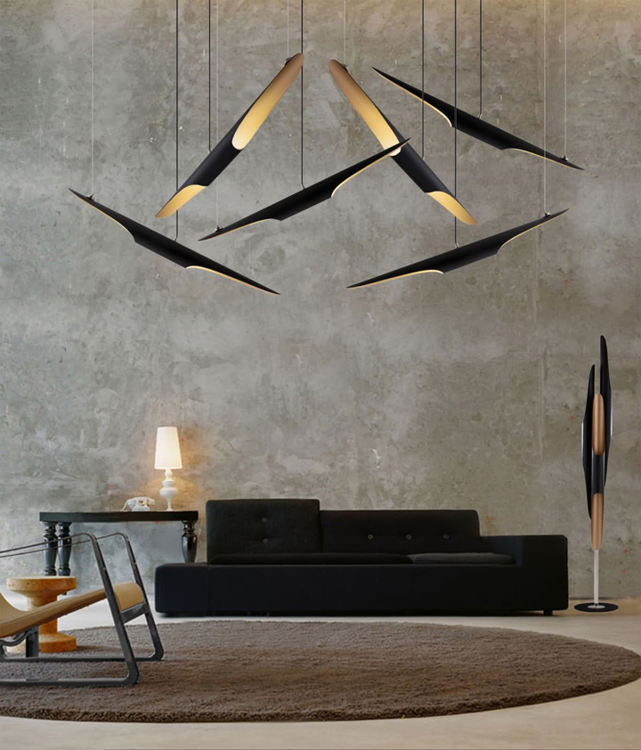 Coltrane lamps by delightfull retail design blog for Suspension designer