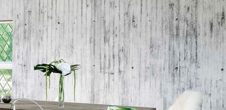 Concrete Wall Paper concrete wall collection wallpaperstom haga » retail design blog