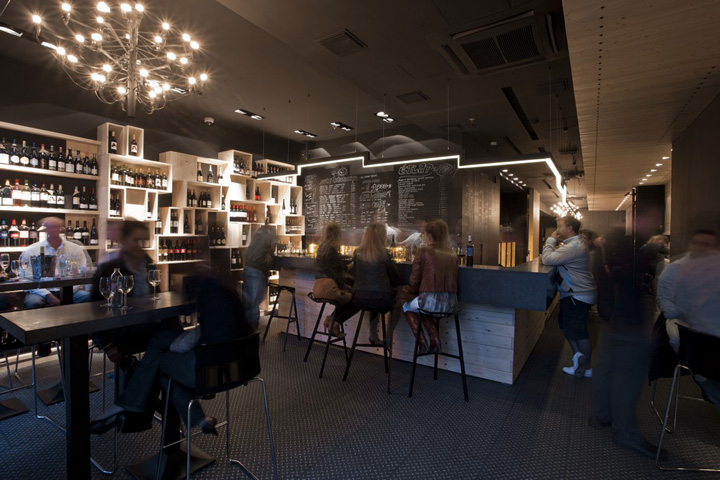 Bon Divino Wine Bar By Suto Interior Architects Budapest Retail