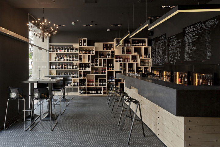 Divino Wine Bar By Suto Interior Architects Budapest Retail