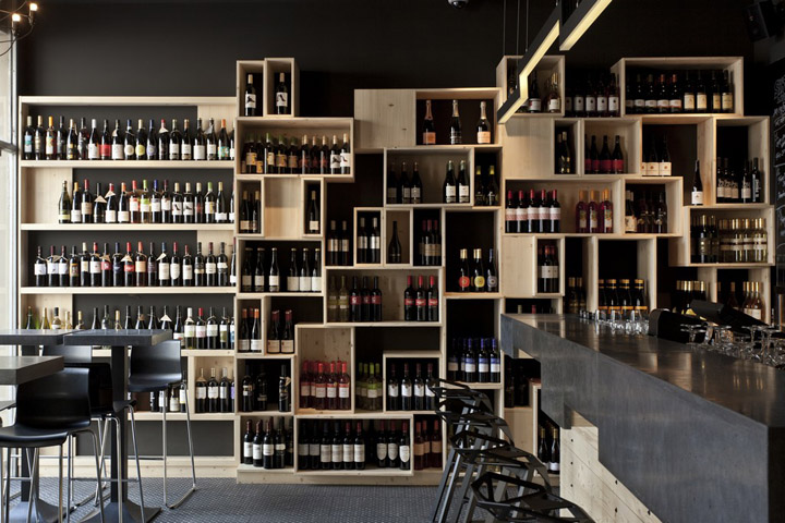 Divino Wine Bar By Suto Interior Architects Budapest Retail. Stunning Wine  Bar Interior Design Ideas ...
