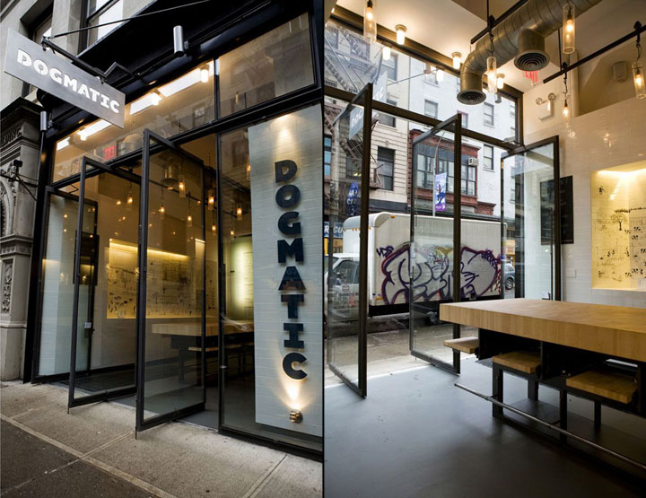 187 Dogmatic Restaurant By Efgh New York