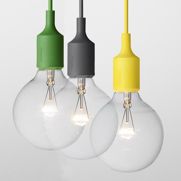 e27 pendant lamp by mattias ståhlbom for muuto