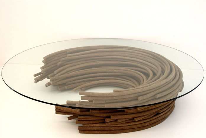 Eco design objects by domingo t tora retail design blog for Design couchtisch ring