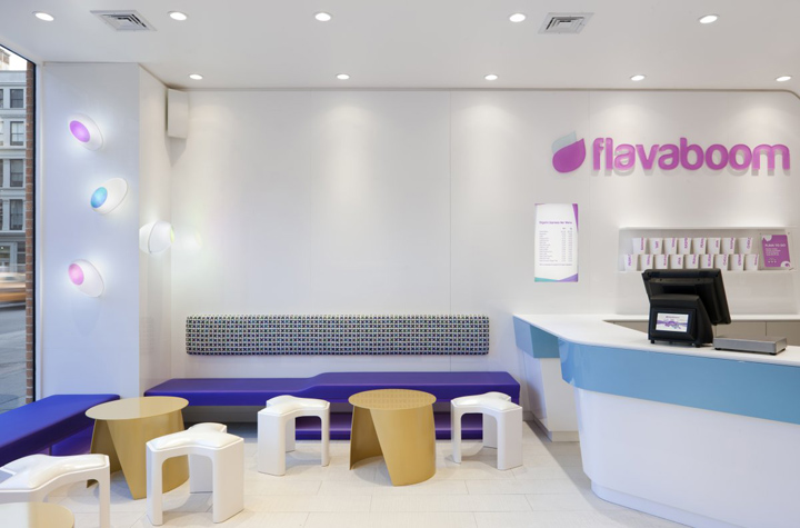 Flavaboom by Dune New York 02 Flavaboom fro yo shop by Dune, New York
