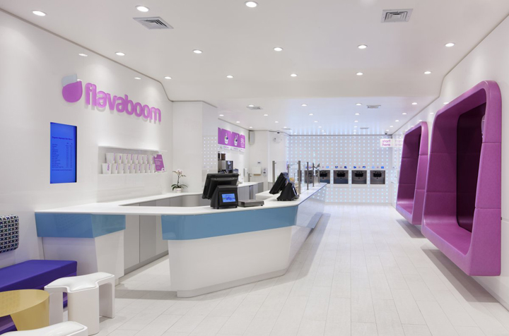 Flavaboom by Dune New York Flavaboom fro yo shop by Dune, New York