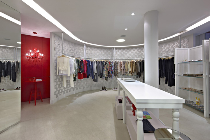 Retail clothing store design