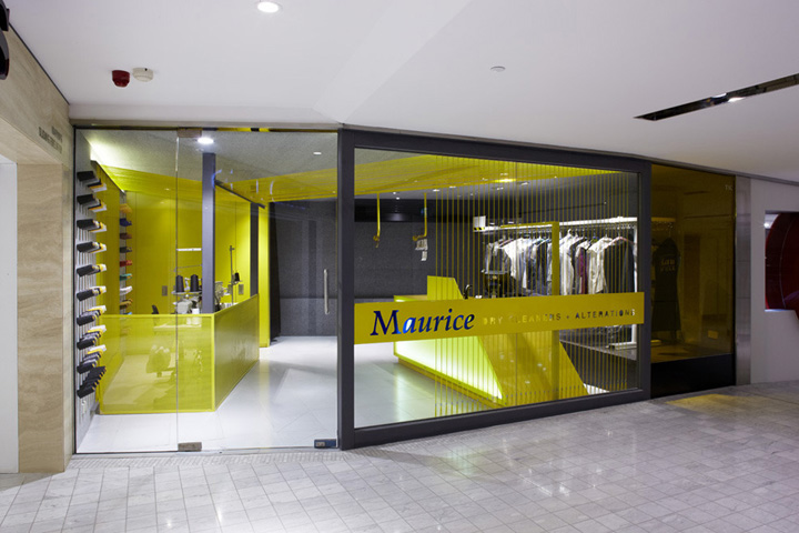 Maurice Dry Cleaners By Snell Architects Sydney Retail Design Blog