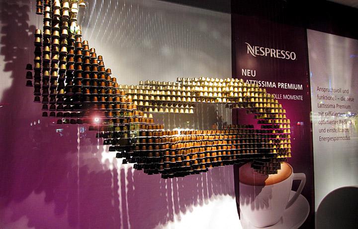 Nespresso Shop Window Hamburg 187 Retail Design Blog