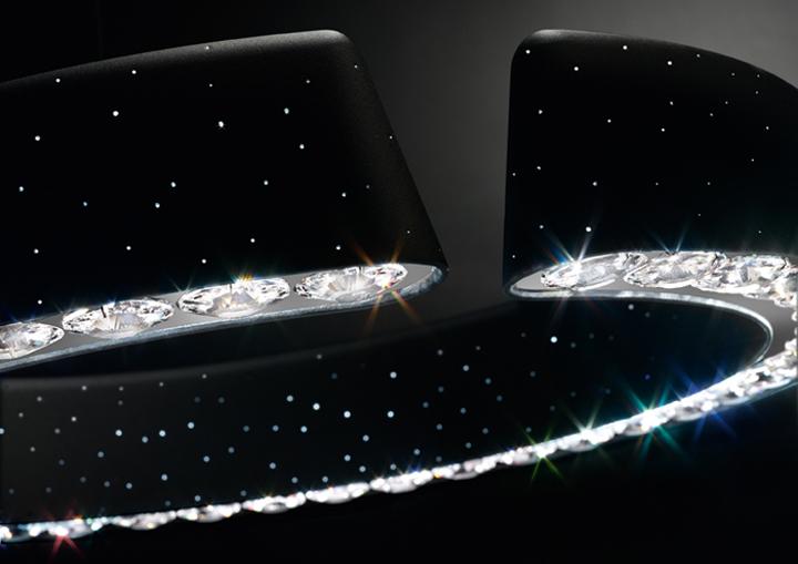 new swarovski lamps in 2011. Black Bedroom Furniture Sets. Home Design Ideas
