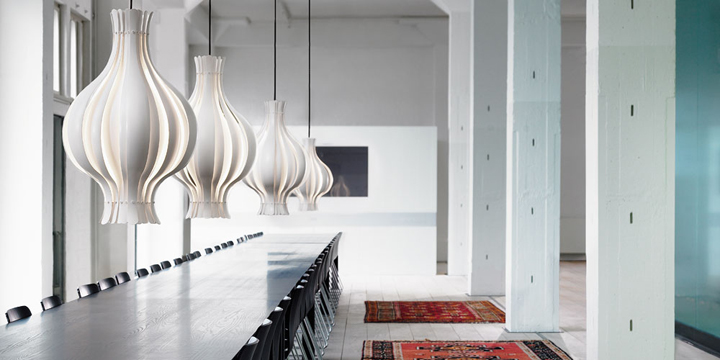 Onion Pendant by Verpan 02 Onion pendant lamp by Verpan