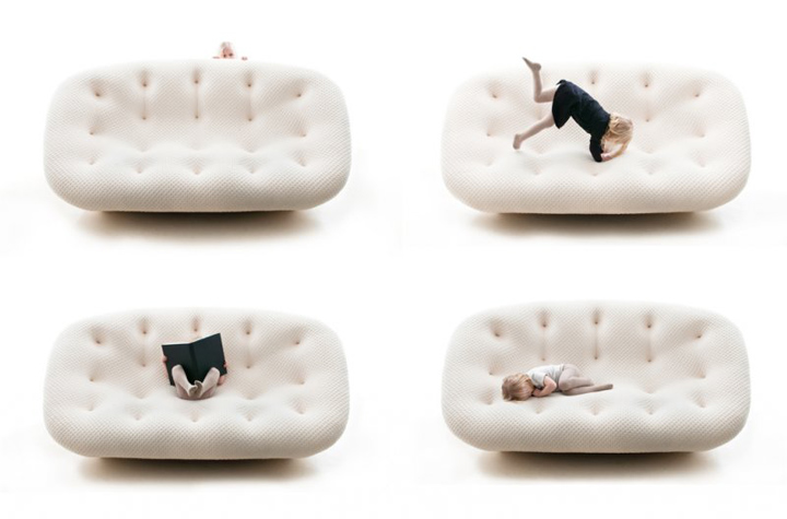ploum sofa by ronan erwan bouroullec for ligne roset. Black Bedroom Furniture Sets. Home Design Ideas